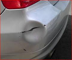 bumper dent damage